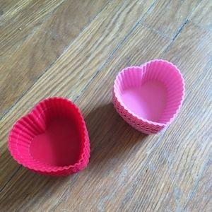 Kitchen - Heart Shaped Cupcake molds